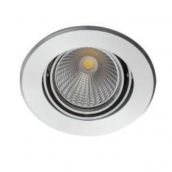 Spot Kanlux 23760 SOLIM LED - Inel spot fix incastrat LED 3,5W, 3000k, IP20, 290lm, argintiu