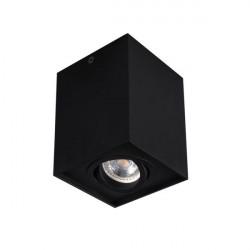 Spot Kanlux 25471 GORD DLP - Spot dublu aplicat DLP-50, GU10, max 1x25W , IP20, Negru