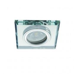 Spot Kanlux 26712 MORTA - Spot incastrat, fix GU10, 1x35W, IP20, argintiu