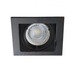 Spot Kanlux 26754 ALREN - Inel spot directional incastrat LED GU10, max 35W, IP 20, negru