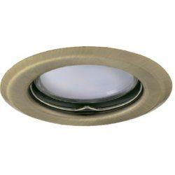 Spot Kanlux 26794 ALOR - Inel spot fix incastrat LED GU10, max 35W, IP 20, auriu