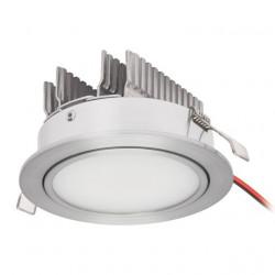 Spot Kanlux 8720 RENDA POWER LED3 - Spot incastrat, led 3W, 3000K, IP20, argintiu