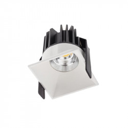 Spot Led Arelux XDomino DM02NW36 MWH - Corp iluminat cu led 9W 500mA 36grd. 4000K IP20 MWH (5f), alb