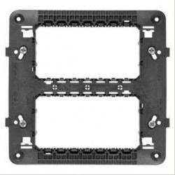 Suport Gewiss GW16808 Chorus - Suport 8 module (4+4) Chorus, standard italian