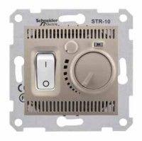 Termostat Schneider SDN6000368 Sedna - Termostat de camera 10 A - 230 V, titan