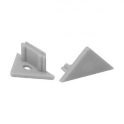 Accesoriu Kanlux 19184 STOPPER E - Capac pentru profile din aluminiu STOPPER