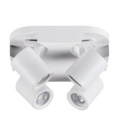 Aplica Kanlux 29128 Laurin - Plafoniera LAURINEL-4O White GU10 4x35W