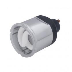 Bec Kanlux 12732 CDL 11W - Bec CFL, 11W, GU10, 2700k, argintiu