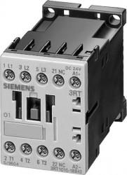 Contactor Siemens 3RT1015-1BB41 - SCHUETZ, AC-3, 3KW/400V, 1S, DC 24V, 3POLIG, BGR. S00, SCHRAUBANS