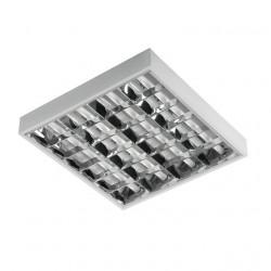 Corp de iluminat Kanlux 4656 NOTUS 418-EVG - Corp aplicat, T8, G13, 4LED, 4x18W, 620x600, IP20, alb
