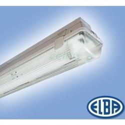 Corp iluminat Elba 22451040 - FIPAD 05, dispersor PC 1X58W HFS IP65