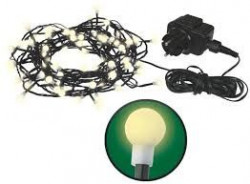Corp iluminat Emos EM-ZY1601 - Instalatie mini globuri 200 LED IP44 20 alb cald