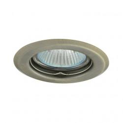 Corp iluminat Kanlux 324 ARGUS CT-2114 - Spot incastrat , Gx5,3, max 50W, 12V, IP20, inox