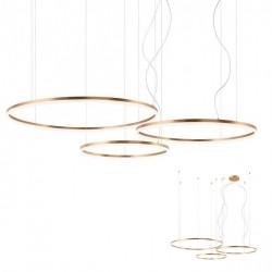 Corp iluminat Redo 01-1723 Orbit - Lustra led, 163W, 3000k, 12507lm, bronz