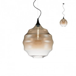 Corp iluminat Redo 01-1844 Slick - Lustra, max 1x42W, E27, IP20, sticlă suflată champagne degrade.