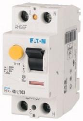 Intrerupator automat Eaton ME293167 - PF4-25/2/003, 25A, 2P