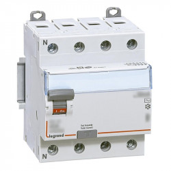 Intrerupator automat Legrand 411790 - DX3-ID 4PD 40A A 500MA