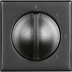 Intrerupator Bticino HS4016 Axolute - Intrerupator 4 pozitii, 3A, 250V, negru
