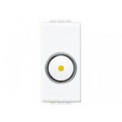 Intrerupator Bticino N4581 Living Light - Variator rotativ, 50W-800W, 1M, 250V, alb