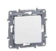 Intrerupator Legrand 664520 Niloe - Intrerupator cap-scara, 10AX, alb