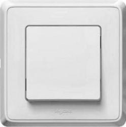 Intrerupator Legrand Cariva 773811 - Intrerupator cu revenire, alb