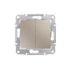 Intrerupator Schnedier SDN0300468 Sedna - INTRERUPATOR DUBLU IP44, 10 AX - 250 V TITAN