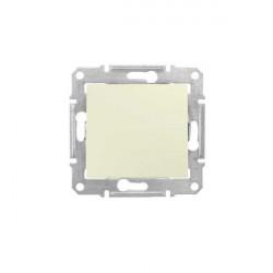 Intrerupator Schneider SDN0400147 Sedna - Intrerupator cap scara, 10 AX - 250 V bej