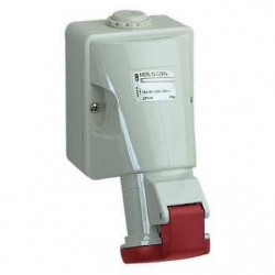 Priza Schneider 83109 - Priza industriala 16A 3P+N+T 380-415V IP44