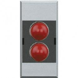 Priza Semnal Bticino HC4268ST Axolute - Conector fibra optica, 1M, argintiu