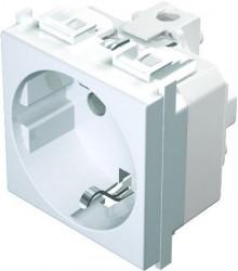 Priza Tem VM10PW-B Modul - Priza simpla CP 2m alb