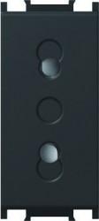 Priza Tem VM20SB-B Modul - Priza simp CP 1m negru