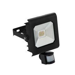 Proiector LED Kanlux 25701 ANTRA - Proiector cu senzor miscare, 10W, 4000k, IP44, negru