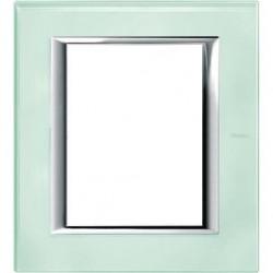 Rama Bticino HA4826VKA Axolute - Rama din sticla, rectangulara, 3+3 module, st. italian, kristall glass