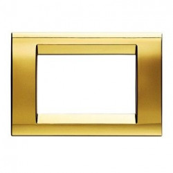 Rama Gewiss GW32063 Playbus - Rama Playbus 3M, oriz, tehnopolimer, auriu