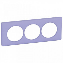 Rama Legrand 68889 Celiane - Rama 3 posturi, polimer, interax 57mm, lavanda