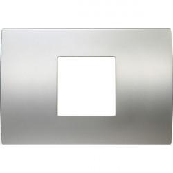 Rama Tem OP23MS-U Modul - Rama metalica decorativa Pure 2/3m argint satinat