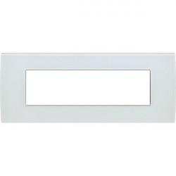 Rama Tem OP70GW-U Modul - Rama din sticla decorativa Pure 7m alb gheata