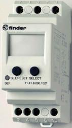 Releu Finder 714182301021 - Releu de monitorizare al tensiunii minime 230V, AC/DC, 1C