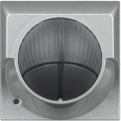 Senzor miscare Bticino HC4611 Axolute - Senzor infrarosu pasiv cu detectie volumetrica , 2M, raza de actiune 8m, 230V, 2A, argintiu