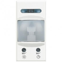Senzor miscare Bticino HD4431 Axolute - Senzor infrarosu, 1M, 230V, 2A, alb,