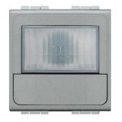 Senzor miscare Bticino NT4434N Living Light - Senzor de miscare, 2.5A, 2M, argintiu