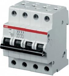Siguranta automata ABB 2CDS244001R0254 - DISJUNCTOR SH204L - MINICIRCUITBREAKER 4P, 25A, 4.5kA, C