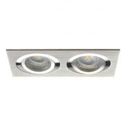 Spot Kanlux 18282 SEIDY - Spot dublu directional, incastrat, Gx5,3, 12V , 2 x max 50W, IP20, aluminium