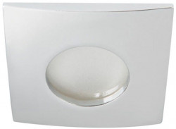 Spot Kanlux 26302 QULES - Spot fix, etans, incastrat, LED, GU10, max 35W, IP 44, crom