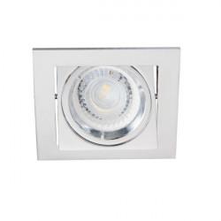Spot Kanlux 26755 ALREN - Inel spot directional incastrat LED GU10, max 35W, IP 20, crom