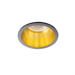 Spot Kanlux 27326 Spag - Inel spot incastrat LED GU10, max 35W, negru/auriu