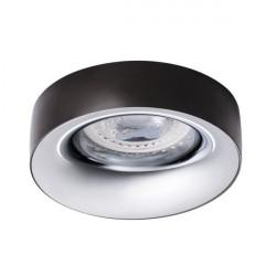 Spot Kanlux 27808 Elnis - Spot incastrat LED GU10, max 35W, anthracite/chrome