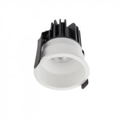 Spot LED Arelux XClub CU02WW50 MWH - Corp LED 1x11W 3000K 500mA 50grd. IP20 MWH (5f), alb