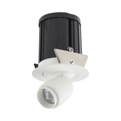 Spot LED Arelux XMicro Recessed MC02NW MWH - Corp iluminat cu LED 3W 700mA 4000K 36grd. MWH (5f), alb