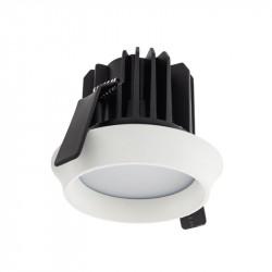 Spot LED Arelux XWell WE02NW MWH - Corp iluminat cu led 1X15W 4000K 700mA IP54 (5f), alb